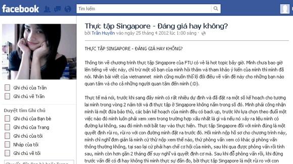 Sinh viên thực tập tại Singapore có bị bóc lột sức lao động? ảnh 1