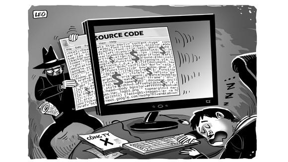 Trộm cắp mã nguồn: Lỗi từ sự bất cẩn ảnh 1