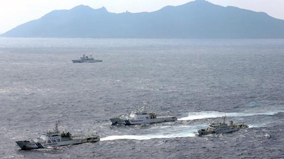 """Tranh chấp Trung - Nhật trên biển Hoa Đông: Chưa có dấu hiệu """"hạ nhiệt"""" ảnh 1"""