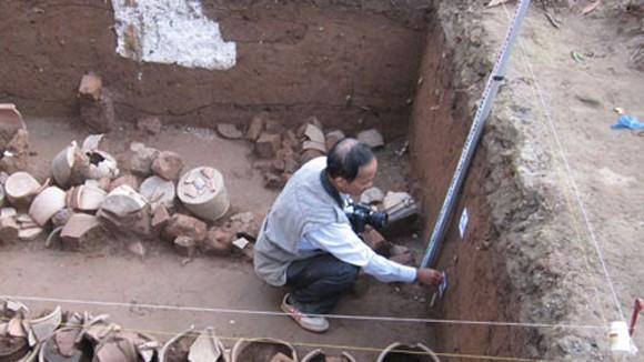 Phát hiện kiến trúc lạ tại đền Voi Phục: Chưa thể lý giải! ảnh 1