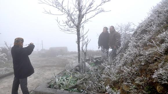 Vùng núi cao có thể xảy ra mưa tuyết ảnh 1
