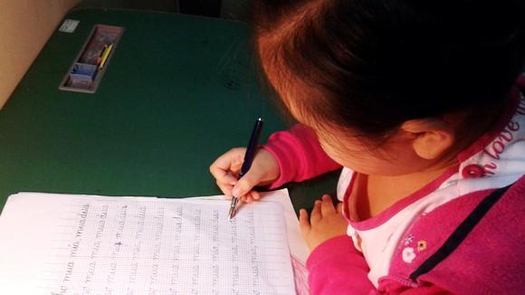 Phong trào luyện chữ đẹp: Lại bệnh thành tích? ảnh 1