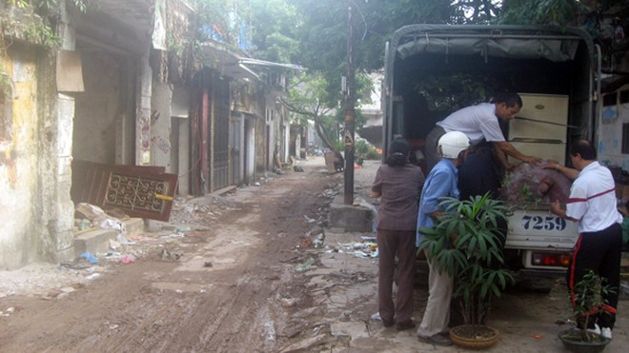 GPMB Dự án A1, A2 Nguyễn Công Trứ: 18 hộ dân tự nguyện di dời ảnh 1