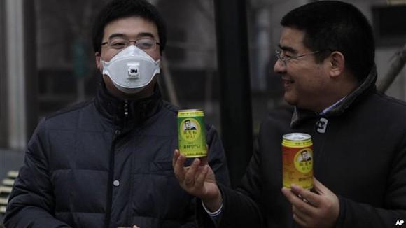 Trung Quốc bán không khí sạch đóng lon ảnh 1