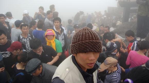 Lễ hội Yên Tử 2013: Gian nan đường hành hương ảnh 2