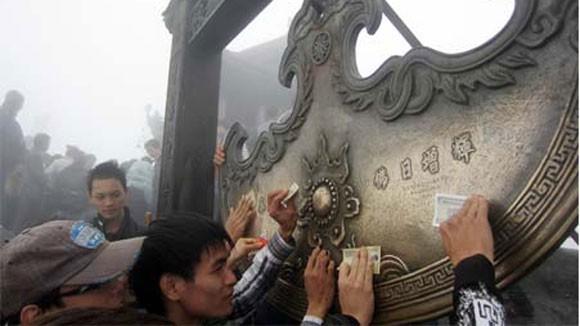 Lễ hội Yên Tử 2013: Gian nan đường hành hương ảnh 1