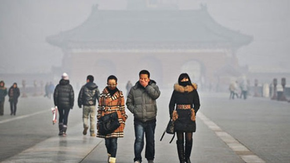 Tuần hành phản đối ô nhiễm môi trường ảnh 1