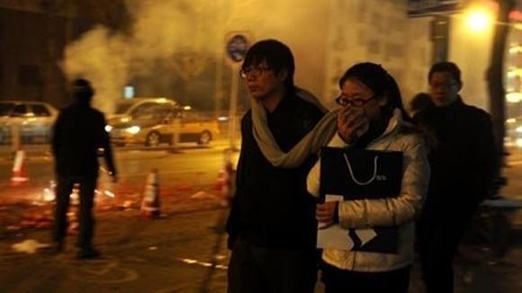 Bắc Kinh ô nhiễm không khí trầm trọng ảnh 1