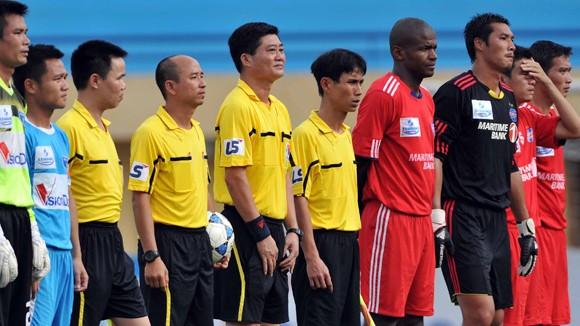 V-League 2013 còn 1 ngày: Trọng tài lo, lo trọng tài ảnh 1