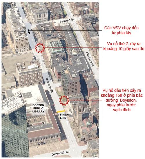 Bom nổ ở Boston chấn động toàn nước Mỹ ảnh 1