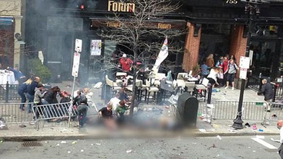 Bom nổ ở Boston làm từ nồi áp suất ảnh 1
