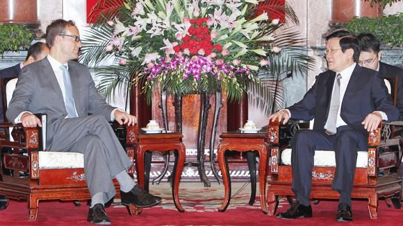 Tạo tiền đề nâng tầm quan hệ Việt - Mỹ ảnh 1