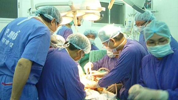 Một người chết não hiến tạng cứu sống 3 người ảnh 1