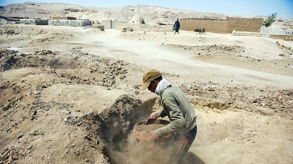 Trộm cổ vật hoành hành tại Ai Cập ảnh 1