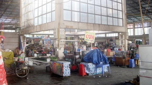 Chợ Vĩnh Tuy: Tê liệt hoàn toàn họng nước chữa cháy ảnh 1