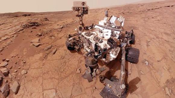 Phát hiện nước trên sao Hỏa ảnh 1