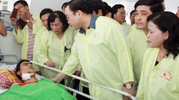 Nổ kho pháo hoa ở Phú Thọ: 24 người chết, 97 người bị thương ảnh 1