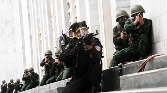 Nâng cao năng lực phòng, chống khủng bố ảnh 1