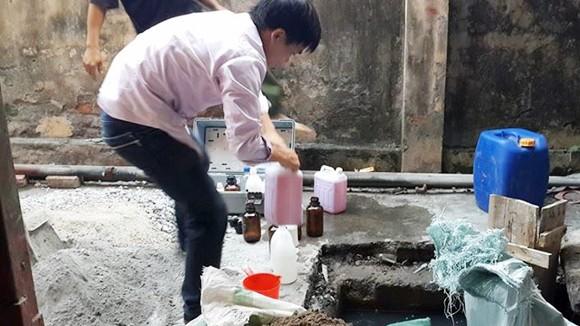 Công ty Happrosimex Thăng Long xả thải gây ô nhiễm môi trường ảnh 1