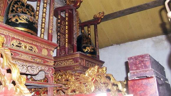 Bi - hài trộm cổ vật đình chùa ảnh 1