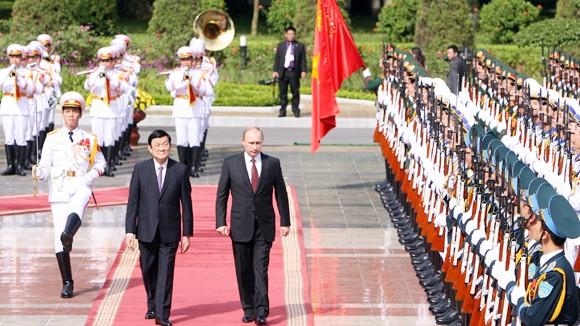 Việt Nam - Liên bang Nga: Phát triển cả chiều sâu và bề rộng ảnh 1