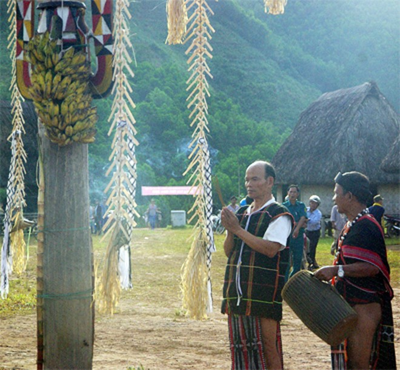 Độc đáo hội Đâm trâu ở Tây Giang ảnh 2