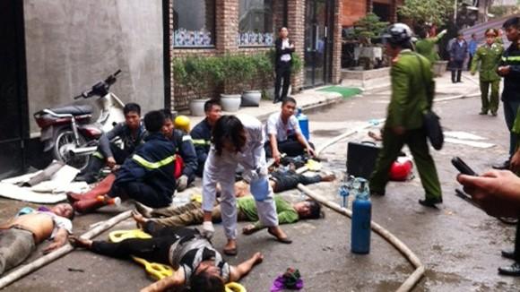 Hàn cắt gây cháy quán bar, 6 người thiệt mạng ảnh 2