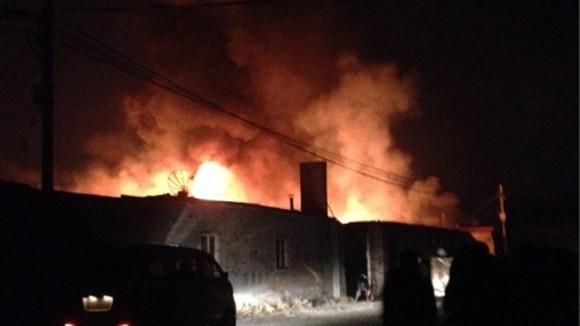 Cháy nhà kho tại Bắc Kinh, 12 người thiệt mạng ảnh 1