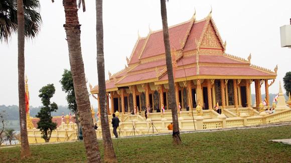 Khánh thành ngôi chùa Khmer ở Hà Nội ảnh 1