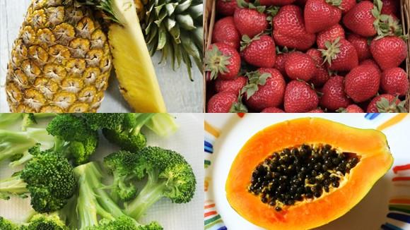 Một số rau quả nhiều vitamin C hơn cam ảnh 1