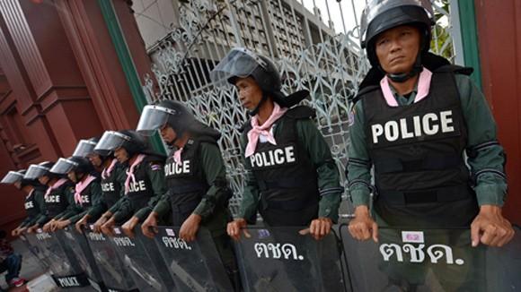 Thái Lan triển khai lực lượng đối phó biểu tình ảnh 1