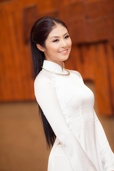 Hoa hậu Ngọc Hân: Chọn lối đi bình yên ảnh 1