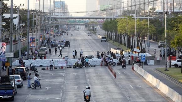 """Người biểu tình """"đóng cửa Bangkok"""" ảnh 1"""
