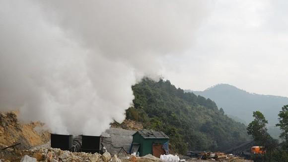 6 công nhân tử nạn trong vụ cháy hầm lò ảnh 1