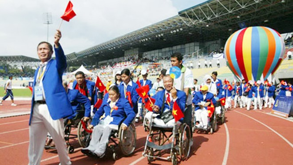 Đoàn Việt Nam đoạt 48 HCV ASEAN Para Games 2014 ảnh 1