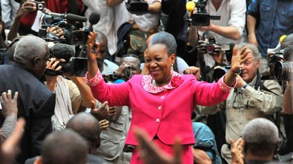 Trung Phi có nữ Tổng thống đầu tiên ảnh 1