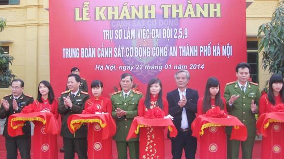 Khánh thành trụ sở 3 Đại đội thuộc Trung đoàn CSCĐ ảnh 1