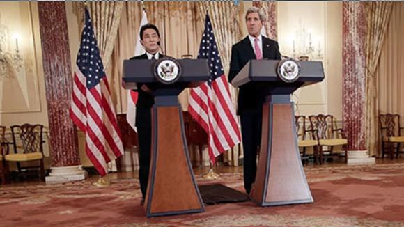 Hoa Kỳ tái khẳng định bảo vệ Nhật Bản ảnh 1