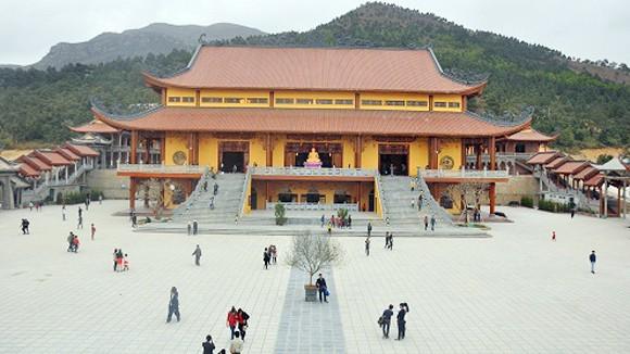Khánh thành chùa Ba Vàng trên núi Thành Đẳng ảnh 1