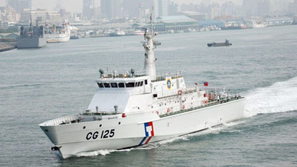 Tàu Đài Loan rượt đuổi tàu cá Trung Quốc ảnh 1