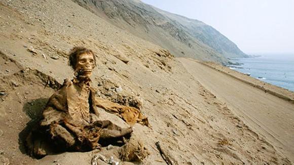 Những xác ướp kỳ bí vùng sa mạc Chile ảnh 1