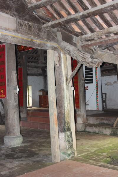 Đình làng Đa Chất - Phú Xuyên: Chẳng lẽ sập mới được tu bổ? ảnh 2