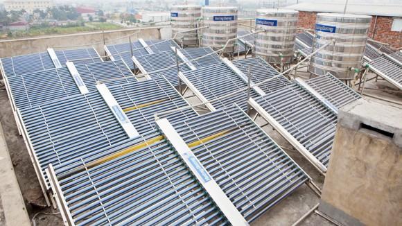 Tiếp tục hỗ trợ 1 triệu đồng/máy nước nóng năng lượng mặt trời ảnh 1