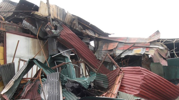 Vụ hỏa hoạn tại các kho hàng gần khu công nghiệp Vĩnh Tuy, quận Hoàng Mai: Bộc lộ nhiều kẽ hở ảnh 1