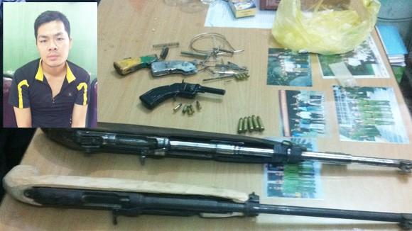 Hải Phòng: Tự mua linh kiện về chế súng ảnh 1