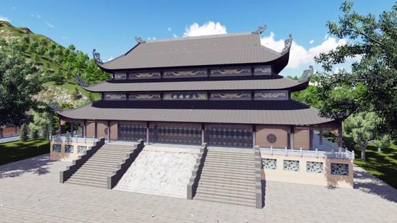 Tái hiện chùa Bái Đính bằng không gian 3 chiều ảnh 1