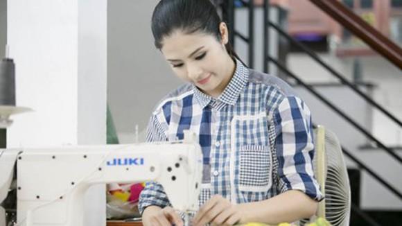 Hoa hậu Ngọc Hân: Đẹp hơn, tự tin hơn ảnh 1