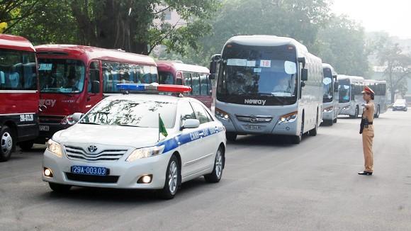 Đảm bảo giao thông phục vụ kỳ họp Quốc hội ảnh 1