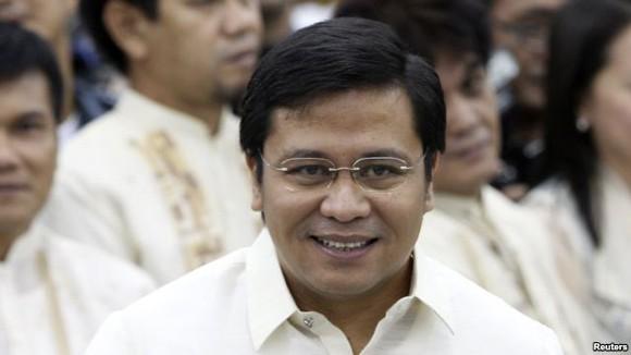 Con trai cựu Tổng thống Philippines bị bắt vì tham nhũng ảnh 1