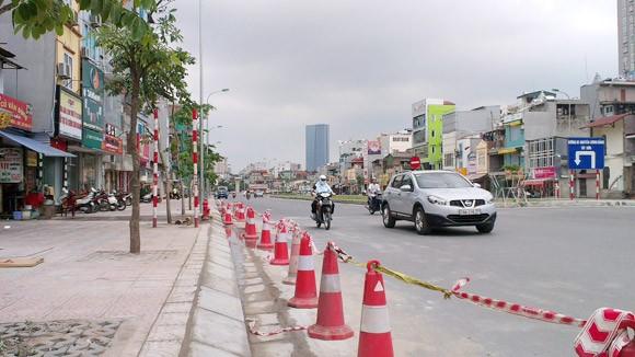 Khắc phục vỉa hè tuyến Ô Chợ Dừa - Hoàng Cầu: Người dân thấy hợp lý ảnh 1